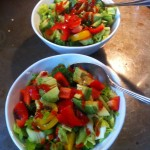 Quinoa Bowl with Sesame Dressing
